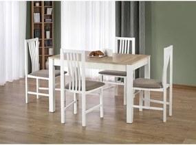 Jedálenský stôl Ksawery dub sonoma / biela