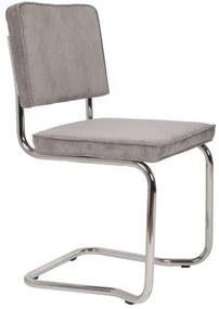 Židle Ridge Kink Rib grey Zuiver 1100077