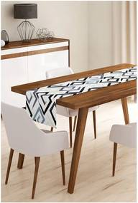 Behúň na stôl z mikrovlákna Minimalist Cushion Covers Timoty, 45 × 145 cm