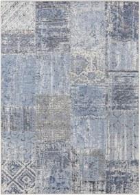 Modrý koberec Elle Decor Pleasure Denain, 160 × 230 cm
