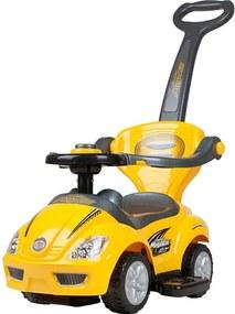 BAYO Bayo Mega Car Detské jazdítko 3v1 Bayo Mega Car yellow Žltá  