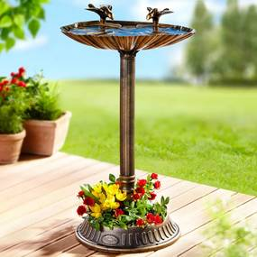 Fontánka s pitnou vodou pre vtáky Antik
