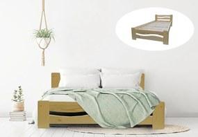 Tereza 140x200 manželská posteľ Natural