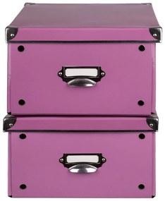 MELINERA® Úložný maxi box, 2 kusy (bledoružová), ružová (100300228)