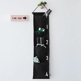 DESIGN LETTERS Adventný kalendár Black & White
