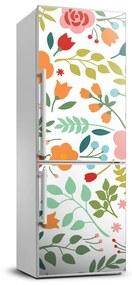 Fototapeta na chladničku Farebné kvety FridgeStick-70x190-f-101208368