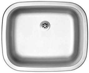 Sinks nerezový drez NEPTUN 526 M matný