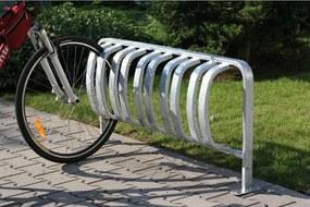 Jednostranný stojan na bicykle - 5 bicyklov, na kotvenie