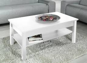 Lawa - Konferenčný stolík (biela)