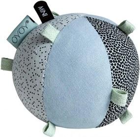 OYOY Textilná hračka pre bábätká Ball Dusty aqua