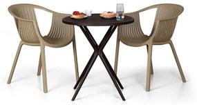Plastový stôl Coffee Time, kávová