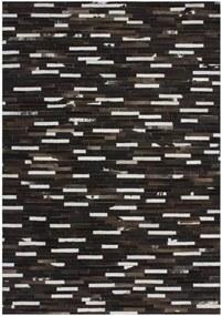 Lalee koberce Kusový koberec Patchwork PAT 851 Brown - 140x200 cm