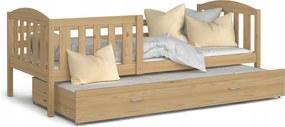 GL Rozkladacia posteľ Kuba P2 - borovica Rozmer: 190x80
