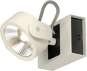 Stropné svietidlo SLV KALU 1x LED bílé/černé 60° 1000128
