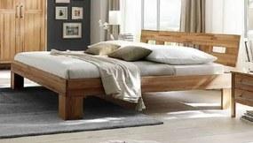 Bighome - KOBLENZ posteľ 200x200 masívny olejovaný buk