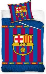 HOD Bavlnené obliečky FC BARCELONA 140x200cm