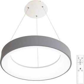 Ecolite LED Stmievateľný luster na lanku LED/40W/230V 3000-6500K šedá EC0304