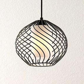 Lindby Cedrice klietková závesná lampa 1-plameňová