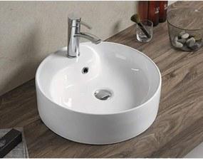 Mexen LILY umývadlo, 46x46 CM, biela, 21824600