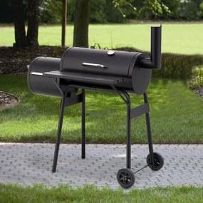 Záhradný gril s udiarňou LOKOMOTIVA AVENBERG BBQ PREMIER