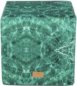 WOUF Taburetka Green Marble