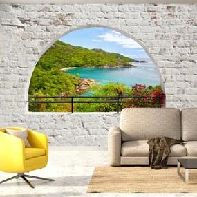 Fototapeta - Emerald Island 200x140 + zadarmo lepidlo