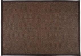 Koberec Saraste, čierno-oranžový, Rozmery 80x200 cm VM-Carpet