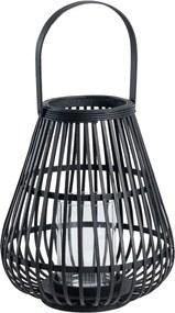 Bambusový lampáš Vox Verkal, výška 34 cm