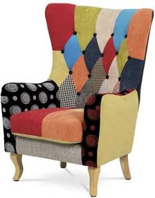 Sconto Kreslo NATALIA patchwork