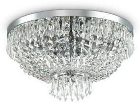 Ideal Lux Ideal Lux - Krištáľové stropné svietidlo CAESAR 6xG9/40W/230V ID093475