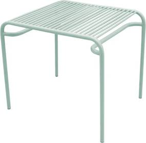 LEITMOTIV Exteriérový stolík Lineate Metal Clay zelená