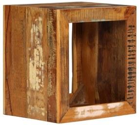 vidaXL Stolička z recyklovaného dreva 40x30x40 cm
