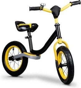 Eco Toys Odrážadlo s nafukovacími kolieskami, žlté