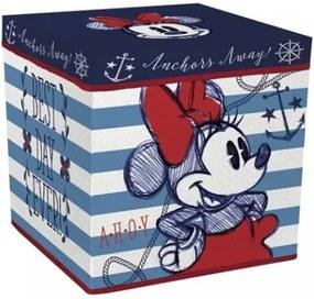 Úložný box s vrchnákom / taburetka  2v1 MINNIE MOUSE ARDITEX MIN0811