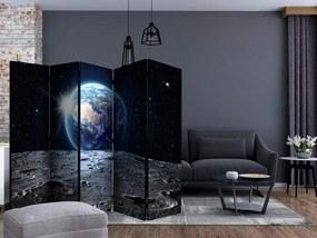 Paraván pohľad na modrú planétu