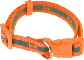 Obojok pre psa Neon oranžová, veľ. S