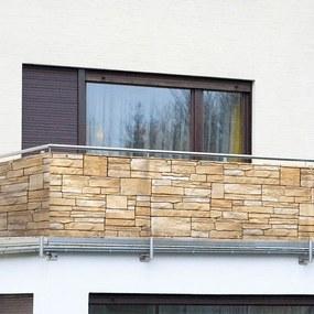 Balkónová zástena PIESKOVCOVÉ KAMENE
