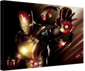 Obraz na plátne obdĺžnik - OB0328 - Iron Man 100cm x 75cm - O1