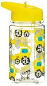 Detská fľaša na vodu Sass & Belle Drink Up Digger, 400 ml