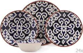 24-dielna sada porcelánového riadu Kutahya Putio