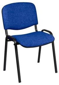 Konferenčná stolička Manutan ISO Black, modrá