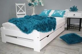 OVN posteľ EUREKA 100x200 biela+rošt