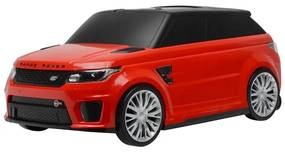 BAYO Nezaradené Detské odrážadlo a kufrík 2v1 BAYO Range Rover SVR red Červená |