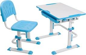 FD Rastúci stôl a stolička Lupin - viac farieb Farba: Modrá