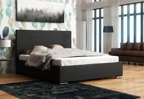 Čalúnená posteľ NASTY 4 + rošt, sofie 20, 180x200 cm