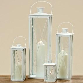 Lucerny Farol biela, súprava 4 ks, bez skla
