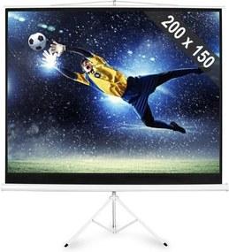 FrontStage PSDC-100, plátno so statívom s rozmermi 200x150 cm,formátom obrazu 4: