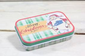 "Plechová krabica ""MERRY CHRISTMAS"" (9,5x2,5x6 cm) 11."