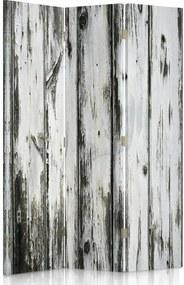 CARO Paraván - Old Boards | trojdielny | obojstranný 110x180 cm