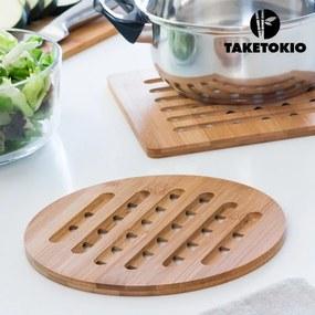 Bambusová Podložka pod Hrniec TakeTokio